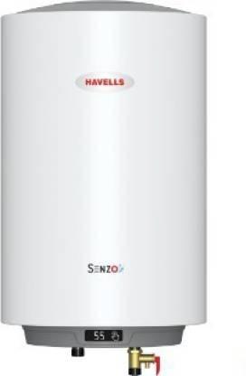 HAVELLS 25 L Storage Water Geyser (Senzo, White)