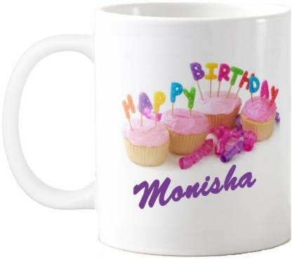 Exoctic Silver Monisha Happy Birthday Quotes 74 Ceramic Coffee Mug