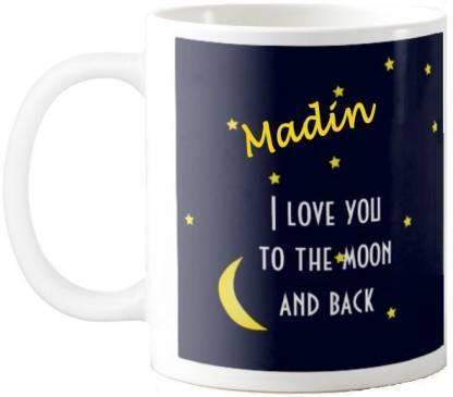 Exocticaa Madin Love Romantic Quotes 75 Ceramic Coffee Mug