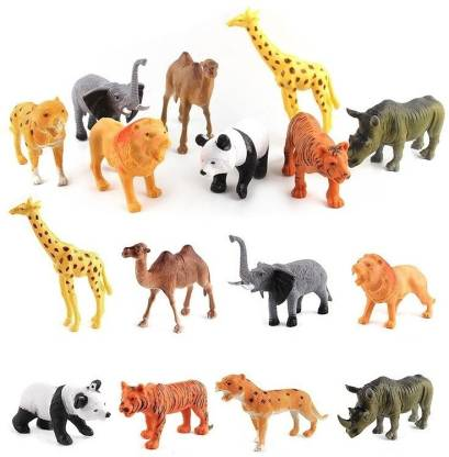 napster Jungle kingdom Animal Play Set of 20 pcs