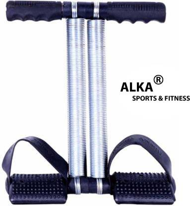 ALKA BLACK DOUBLE STEEL SPRING TUMMY TRIMMER FOR WOMEN Ab Exerciser