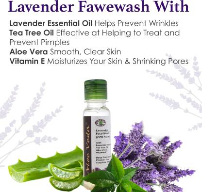 Aloe Veda Lavender Face wash Anti-Acne