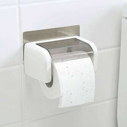 Gaxquly Wall Mounted Toilet Paper, Tissue Holder Bathroom
