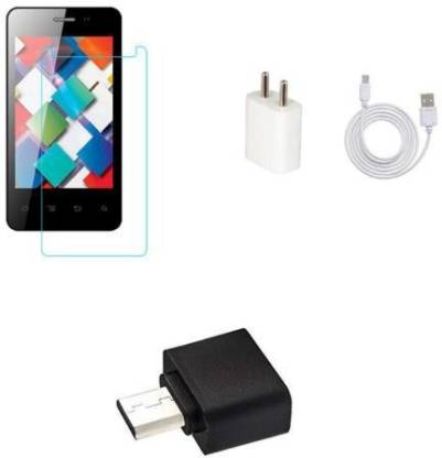 Zootkart Screen Protector Accessory Combo for Karbonn Indian 9