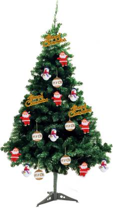TIED RIBBONS Fir 60.96 cm (2.0 ft) Artificial Christmas Tree