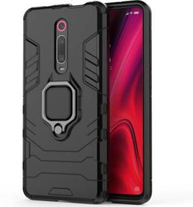 KHR Back Cover for OnePlus 7 Pro Dual Layer Hybrid Shockproof Armor Defender Case Kickstand