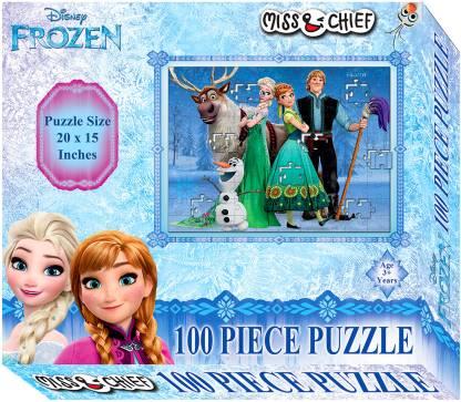 Miss & Chief 100 Puzzles Frozen  (100 Pieces)