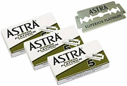 Astra Superior Premium Platinum Double Edge Safety Razor Blades