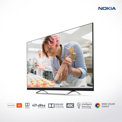 Nokia 139cm (55 inch) Ultra HD (4K) LED Smart Android TV with Sound by JBL
