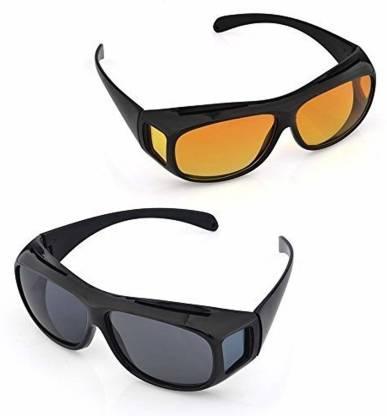 VEDRID Unisex Night Vision Glasses Motorcycle Goggles Motorcycle Goggles Sports Goggles