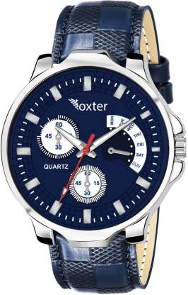 FOXTER Latest Blue Dial Blue Strap Analog Watch - For Boys