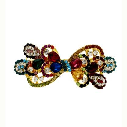 Anuradha Art jewellery Trendy Back Pin For Women Back Pin