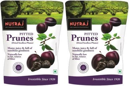 Nutraj California Pitted Prunes - Dried Seedless Plums - 400 Gm Prunes