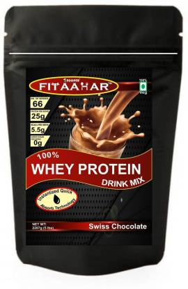 SOOPER FITAAHAR WHEY PROTEIN DRINK MIX 5lbs CHOCOLATE Whey Protein