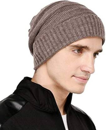 Woven Winter Woolen Cap