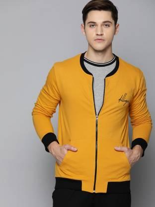 DILLINGER Full Sleeve Solid Men Jacket