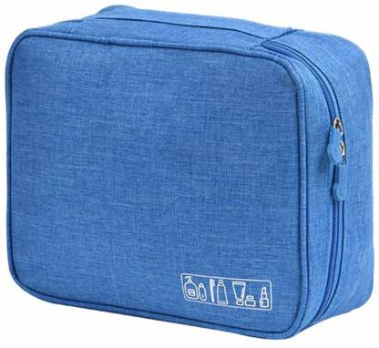 Divinext Portable Travel Toiletry Bag Multi Purpose Makeup Organizer Pouch Travel Toiletry Kit