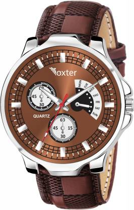 FOXTER New Arrival Brown Dial Brown Strap Analog Watch - For Men