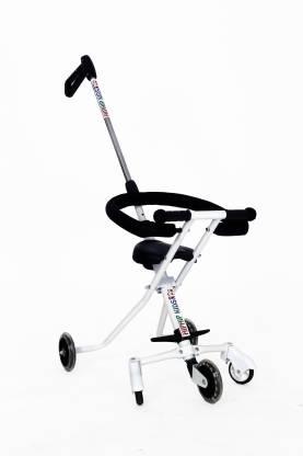 Hiphip Kids Portable Lightweight Travel Stroller With Safety System For Toddler Baby White 2 8 Years Stroller Buy Stroller In India Flipkart Com