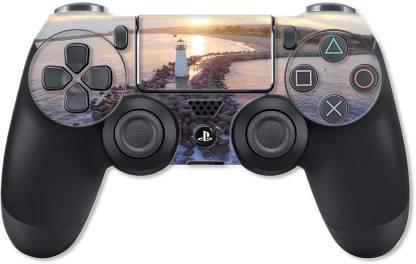 GADGETSWRAP PS4CS13208 - Printed Walton Lighthouse santa Cruz Split Skin For PS4 Controller  Gaming Accessory Kit