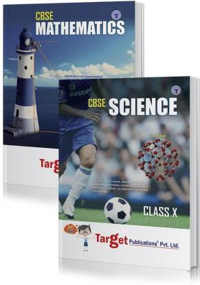 CBSE Class 10 Maths And Science Notes Books | HOTS, NCERT Exemplar, Textual And Intext Questions With Solutions | Chapterwise Previous Years Solved Questions And MCQs | Based On New Paper Pattern | Set Of 2 Books