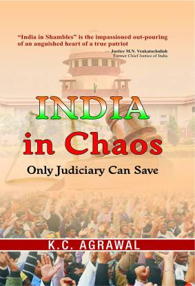 India in Chaos - India in Chaos - Only Judiciary Can Save with 1 Disc