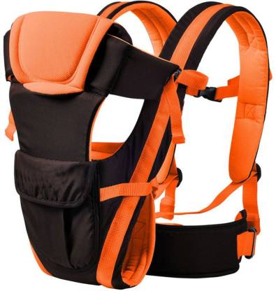 Shuaitech 4-in-1 Adjustable Baby Carrier Cum Kangaroo Bag/Honeycomb Texture Baby Carry Sling/Back/Front Carrier for Baby with Safety Belt and Buckle Straps Baby Carrier