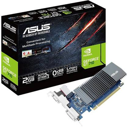 ASUS NVIDIA Silent 2 GB GDDR5 Graphics Card