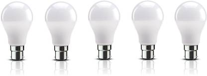 Best Price Ever 12 W Standard B22 LED Bulb  (White, Pack of 5)