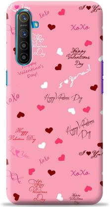 Loffar Back Cover for Realme XT  (Pink, Shock Proof)