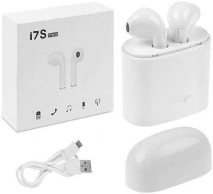 Lehza i7s sport Wireless Earphones With Charging Box Bluetooth Headset