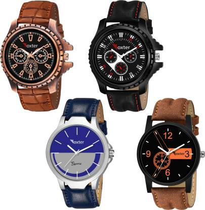 Foxter Designer Combo Watch FX-430-436-001-copper Analog Watch - For Boys