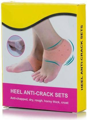 Trifles TR 134 Unisex Anti Heel Crack set Vented Moisturizing Silicone Gel Heel Heel Support
