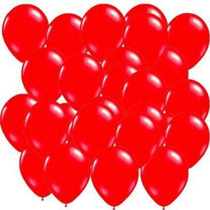 atul gift& toys Solid best 100 red ballons Balloon