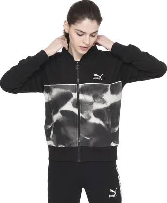 Full Sleeve Graphic Print Women Jacket