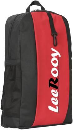 LeeRooy MN-LeeRooy 20Ltr Canvas Black Best Quality Bag Backpack Waterproof Multipurpose Bag