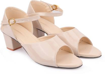 Bullfer Women Beige Heels