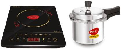 Pigeon Acer Plus Induction Cooktop with IB 3 Ltr Pressure Cooker 2020 Combo