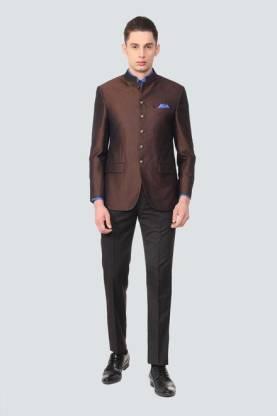 Suit Solid Men Suit
