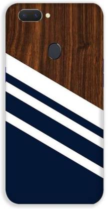 Trends Youth Back Cover for Oppo A5 Wooden Slice Blue Designer Printed Mobile Cover for Oppo A5