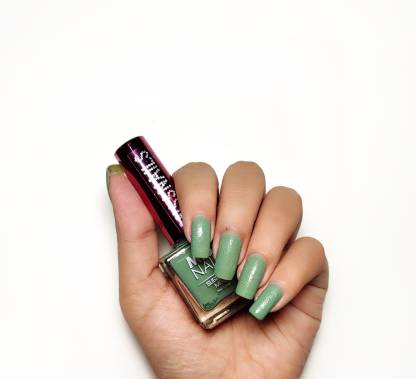 Miss Nails Sugar Matte SM 17 Alpine Green Green