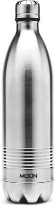 MILTON Thermosteel Duo Deluxe-750 Stainless Steel Water Bottle, 700ml, Silver 700 ml Bottle