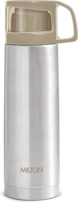 MILTON Thermosteel Glassy Drinking Cup Lid, 500 Ml, Grey 500 ml Flask