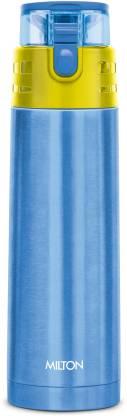 MILTON Thermosteel Atlantis 400 water Bottle Blue 400 ml Bottle