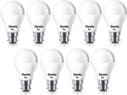 Oyota 7 W Standard B22 LED Bulb