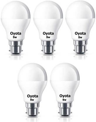 Oyota 5 W Standard B22 LED Bulb