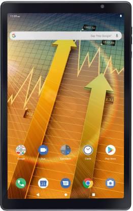 iball iTab BizniZ Pro 4 GB RAM 64 GB ROM 10.1 inch with Wi-Fi+4G Tablet (Coal Black)