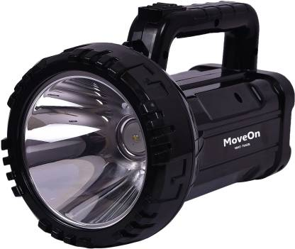 MoveOn MHT-7045B High Energy Professional 5W Rocklight LASER Point DP Led Long Range Dual Functional Portable Searchlight Flashlight With Hand Torch