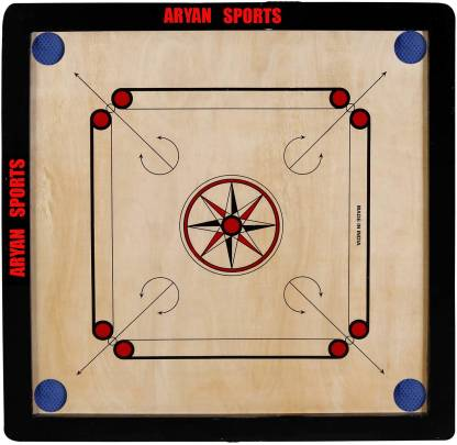 Carrom board with Coins and Powder and striker 20 inch Carrom Board