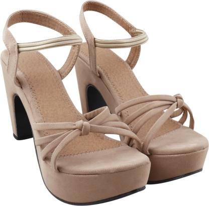 KADY Women Beige Heels